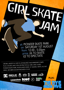 2015 girls jam flyer